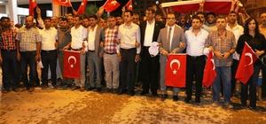 Ayhan 15 Temmuz demokrasi ve milli birlik gününü kutladı