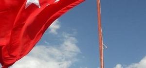Sason'un en yüksek dağına Türk bayrağı dikildi