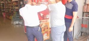 Siirt TSO esnafa afiş dağıttı