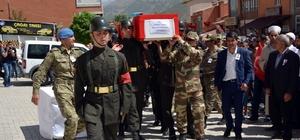 Şehit korucu Yılmaz için tören düzenlendi