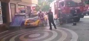 Sakarya'da araç yangını