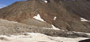 Süphan dağına 15 temmuz zirve tırmanışı