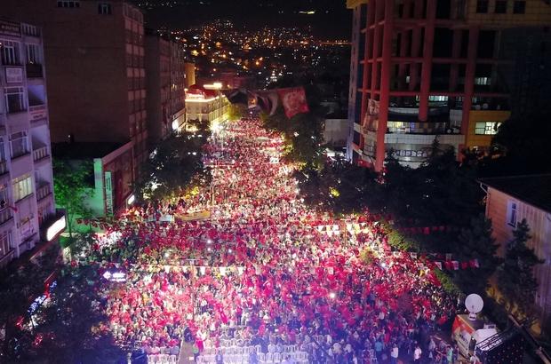 Kahramanmaraş'ta 15 Temmuz Milli birlik yürüyüşü düzenlendi