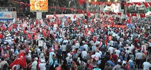 Gebze'de birlik ve beraberlik yürüyüşü