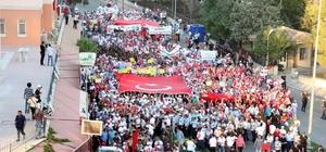 Kilis'te Milli Birlik Yürüyüşü