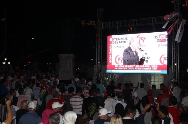 Edirne'de 15 Temmuz Destanı etkinlikleri