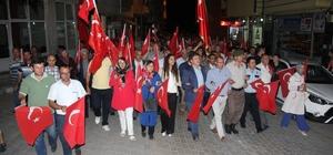 Domaniç, 15 Temmuz Demokrasi Zaferi ve Şehitleri Anma Günü'nde tek yürek