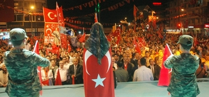 10 binlerce Vanlı Beşyol meydanında nöbete başladı