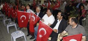 Şemdinli'de 15 Temmuz demokrasi ve milli birlik günü kutlandı