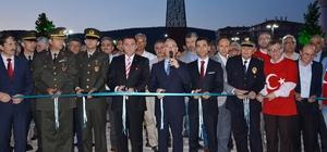 15 Temmuz Şehitleri Anıtı ve Parkı törenle açıldı