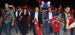 """Tutak'ta """"15 Temmuz Demokrasi ve Milli Birlik Günü"""""""