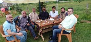 Gazeteci-Yazar Cem Küçük memleketi Giresun'da stres attı