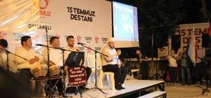 Demokrasi nöbetine Osmaneli halkı büyük ilgi gösterdi