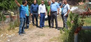 Turgutalp Mahallesinde içme suyu hattı yenilendi