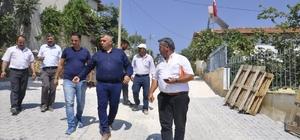 Akhisar'da 50 Bin metrekarelik kilit parke taşı çalışması