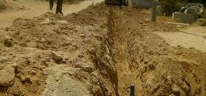 Beyler Mahallesi'de içme suyu hattı yenilenmesi