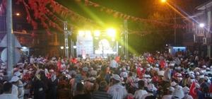 Yavuzeli'nde 15 Temmuz Zaferi Kutlamaları