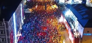 Erzurum vatan nöbetinde yine destan yazdı