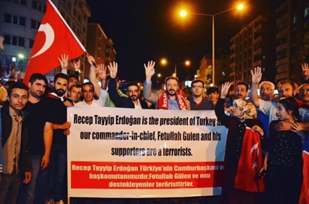 Palandöken İlçe Başkanı Ömeroğlu'ndan 15 Temmuz mesajı