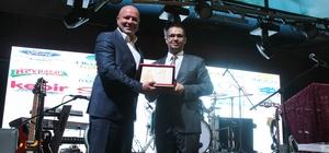 Pursaklar Belediye Başkanı Çetin'e 'Yılın Kültür Projesi Ödülü'