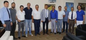 MGC'den Akdeniz Belediye Başkanı Pamuk'a ziyaret