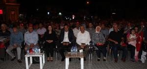 İncesu halkı 15 Temmuz Demokrasi Nöbetinde meydanları doldurdu
