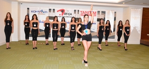Miss Mediterranean 2017 finalistleri kampta girdi