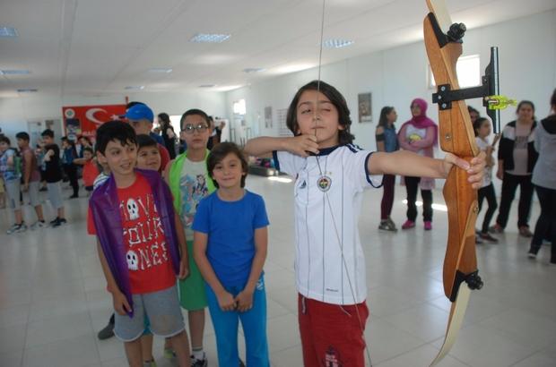 Tokat'ta okçuluk sporuna yoğun ilgi