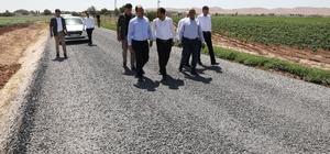 Çiftçi, Akçakale kırsalındaki çalışmaları inceledi