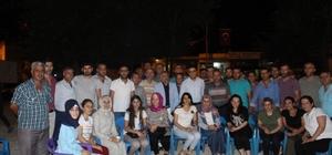 Hani'de 'Demokrasi Nöbeti'nde 2'nci gün coşkusu