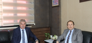 Vali Pehlivan'dan Başkan Memiş'e ziyaret