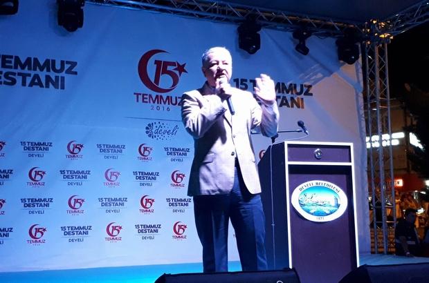 Develi Kaymakamı Murat Duru ilçe halkına teşekkür etti
