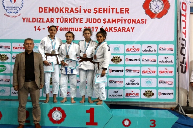 Yıldızlar Judo Şampiyonası'ndan Rizeli sporcular madalya ile döndü