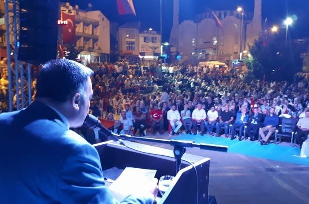 Başkan Cabbar, ilçe halkına teşekkür etti