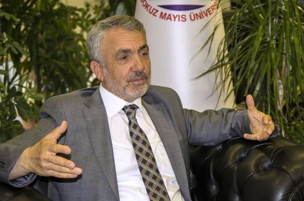 """OMÜ Rektörü Bilgiç: """"Kurtuluş meşalesine olimpiyat meşalesi eklendi"""""""