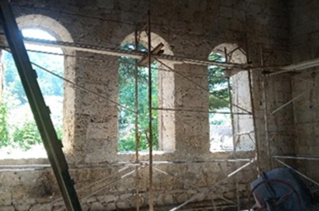 Tarihi Tepecik Camii yenileniyor