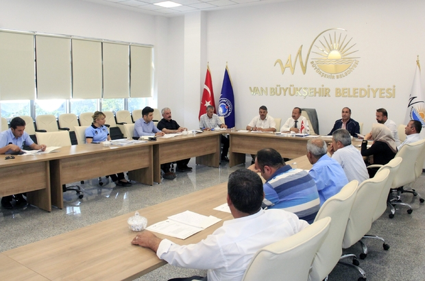 Van'da 5. Zabıta Koordinasyon Toplantısı
