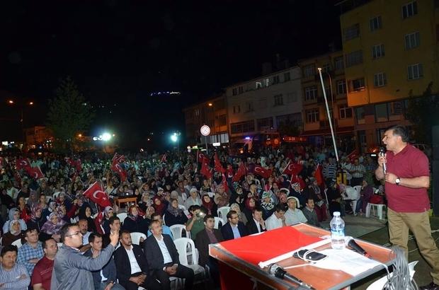 Başkan Mustafa Koca: Biz birlikte Emet, birlikte Türkiye'yiz