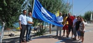 Karabiga sahillerine mavi bayrak