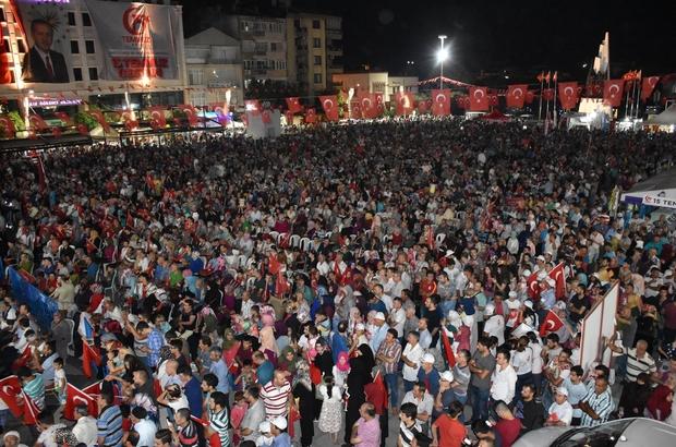 AK Parti'li Mersinli'den Manisalılara 15 Temmuz teşekkürü