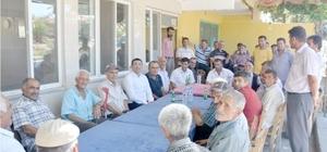 Kaymakam Gencer köylerde incelemelerde bulundu