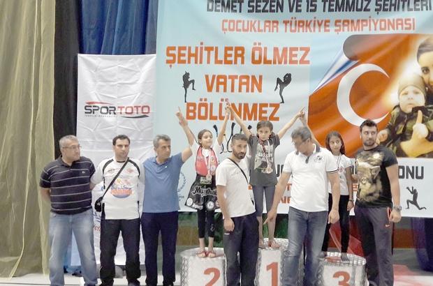 Özel Spor kulübü şampiyonada Türkiye ikincisi oldu