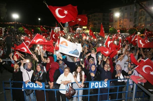 Karaman'da 15 Temmuz Demokrasi ve Milli Birlik Günü etkinlikleri