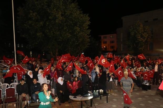 Pazaryeri Demokrasi Nöbetine devam etti