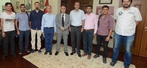 Denizli Valisi Karahan ulusal medya temsilcileriyle buluştu
