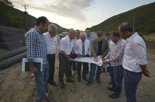 DSİ Genel Müdürü Acu, Kastamonu'da incelemelerde bulundu