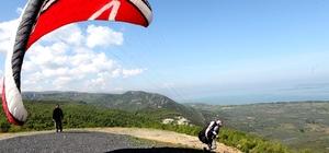Nilüfer Belediyesi'nden yamaç paraşütü kursu