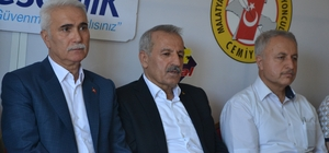 Milletvekili Mustafa Şahin'den MGTC'ye ziyaret