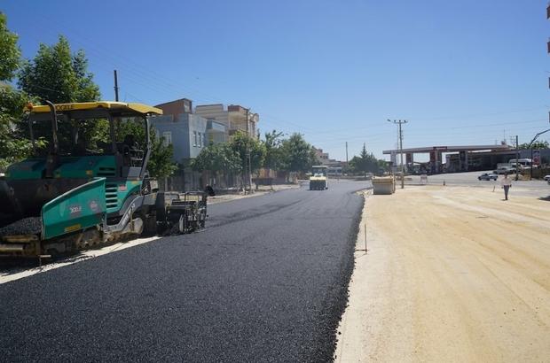 3. Çevreyolunun Fatih Mahallesi kısmı asfaltlandı