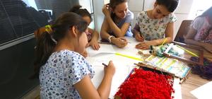 Kilim Sanatı Çocuk Akademisi tezgahlarında yeniden hayat buluyor